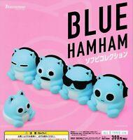 BLUE HAMHAM Soft Vinyl figure Collection complete set (5pcs) 2020 capsule toy