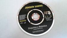 """JOAQUIN SABINA """"DIEGUITOS Y MAFALDAS"""" CD SINGLE 1 TRACKS"""