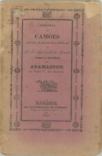 Apologia de Camoes contra as Reflexoes criticas P Jose Agostinho de Macedo 1840