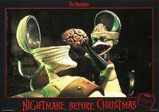 TIM BURTON THE  NIGHTMARE BEFORE CHRISTMAS 1993 VINTAGE LOBBY CARD #9