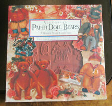 VICTORIAN PAPER DOLL BEARS RUBBER STAMP COLLECTION BY CYNTHIA HART NEW!