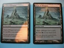 mtg  VAULT OF WHISPERS  X 2  cards