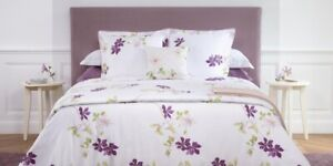 """Yves Delorme """"Clematis"""" King Size Duvet Cover Only"""