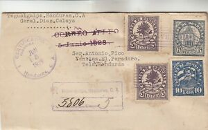 Honduras Registered Cover