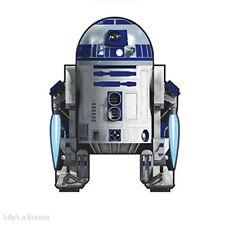 STAR Wars R2-D2. per Bambini Aquilone. Easy Flyer. i caratteri con licenza