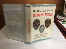 observers book of birds eggs 1967: