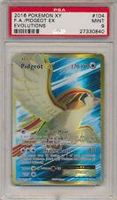 Pokemon PSA 9 XY Evolutions Full Art Holo Rare Pidgeot EX 104/108 *MINT A