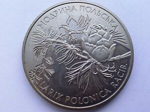 "Ukraine,2 hryvnia ""Modrina polska"" Nickel 2001 year"