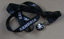 Xandria Xandria Rare Promo-Only Lanyard Keyring + Logo Button
