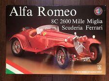 Pocher 1/8 Alfa Romeo 8C 2600 Mille Miglia Scuderia Ferrari K81 Model Car Kit