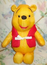 WINNIE THE POOH LIFE JACKET BOATING SWIMING POOL BATH TIME NYLON STUFFED BEAR