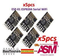 5pcs ESP8266 ESP-01 WIFI Serial Wireless Transceiver Module Upgraded Version