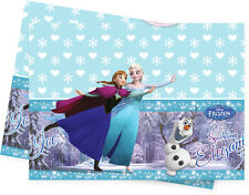 Disney Frozen Princess Birthday Party Tableware Plates Cups Napkins Tablecover Plastic Table Cover 120 X 180cm