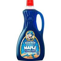 Cap'n Crunch Aunt Jemima Berrytastic Ocean Blue Maple Syrup READY TO SHIP NOW!