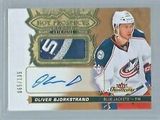 2016-17 Upper Deck Fleer Showcase HOT PROSPECTS AUTO PATCHES ***YOU PICK***