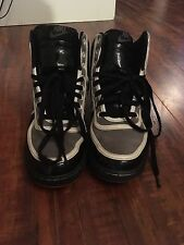 Nike High Tops Black/Grey/White 7.5