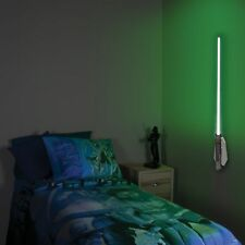 STAR WARS LUKE SKYWALKER LIGHTSABER DECOR ROOM R/C KID TOY NIGHT LIGHT WALL LAMP