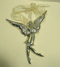 """Serenity By Seasons """"Dwell In Possibility"""" Emily Dickinson Angel Ornament"""