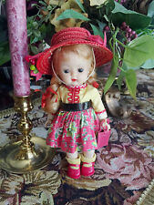 Darling Vintage Nancy Ann Muffie in Rare Variation Two-Piece Outfit!