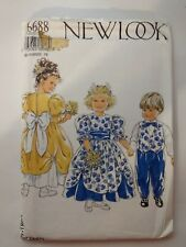 New Look 6688 Size 3-8 Childrens' Dress Waistcoat Trousers Bow Tie Party Formal