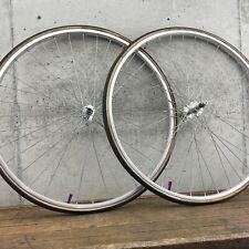 Ukai Sunshine 27 in Wheel Set Vintage Road Bike Rim QR Quick Release 36 h 126 mm