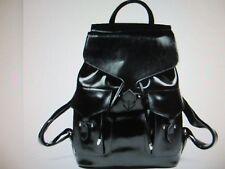 NEW - Backpack - Women or Men - Genuine Leather - Black