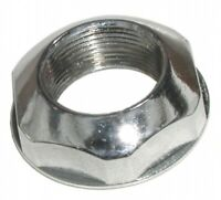 1969-1982 C3 CORVETTE ANTENNA HEX NUT. POLISHED CHROME REPRODUCTION. GM 3943656.