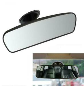 Universal Car Wide Flat Rear View Mirror Inner Windshield Suction Pad Anti-glare