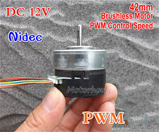 NIDEC DC 12V 4800RPM Bürstenlosen Motor PWM Speed Control CW/CCW Emergency Stop