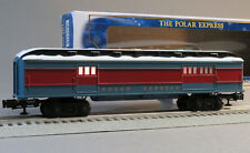 Lionel Polar Express Baggage Car O Gauge train passenger snow 6-84605 New Design