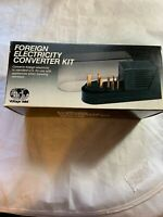 Foreign Electricity Converter Kit.