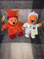 WINNIE THE POOH COLLECTABLES POOH PLAYGROUND & POOH ROMPER BEANIES