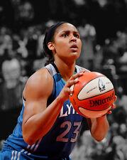 WNBA Minnesota Lynx MAYA MOORE Glossy 8x10 Photo Spotlight Basketball Poster