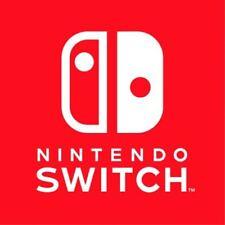 Nintendo Switch Die cut Vinyl Decal - Logo Car Window Sticker phone game