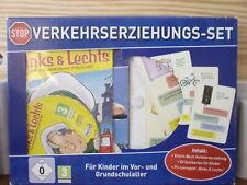 Verkehrserziehungsset mit Elternbuch, Quizkarten & PC- Lernspiel, OVP incl.Vers.