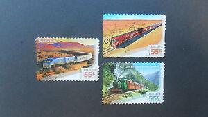 Australian Decimal Stamps: 2010 Great Australian Railway Journeys P&S used