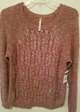 Nwts $66 Leo & Nicole Ladies Suze X-Large Long Sleeve Boat Neck Sweater