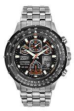 Citizen Eco-Drive SkyHawk Grey Titanium Solar Chrono Men's Watch JY0010-50E SD9