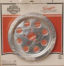 Harley original Belt pulley cromo cover Sprocket softail fxr Dyna Sportster 61t