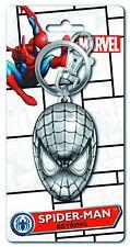 SPIDER-MAN HEAD PEWTER Keyring - Vault 35