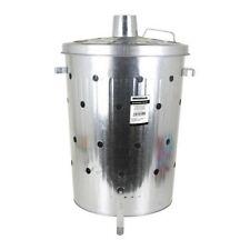 Inceneritore da Giardino Bricotech 75 L riduzione spazzatura compost e rifiuti