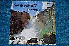 RANDY MILLER Something Beautiful RARE XIAN RAINBOW RECORDS LP Stereo PA TX