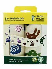 Bio-Mullwindeln Spuckwindel 2 er Pack