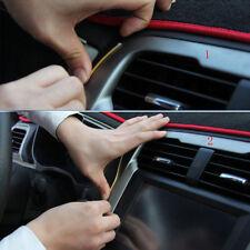 5M Line Car Interior Decor Red Point Edge Gap Door Panel Accessories Molding
