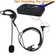 Referee Judge Earphone Mic Speaker Headset Earpiece for V4/V6 Bluetooth Intercom