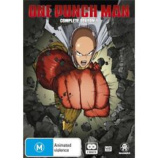 ONE PUNCH MAN-Season 1-Region 4-New AND Sealed-2 DVD Set-TV Series