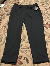 Ava Viv black capri sweats 1X (16W/18W)