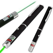 Powerful 1mW Green Beam LED Laser Lazer Pointer Pen High Power Professional