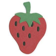 "Quickutz   KS-0110 ""Strawberry"" No Packaging  Retired/Disc/Custom Die NEW"