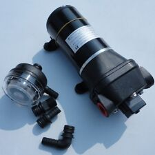 Black High Pressure Water Pump 12 V DC 40 PSI 4.5 GPM. Replace Flojet Useful